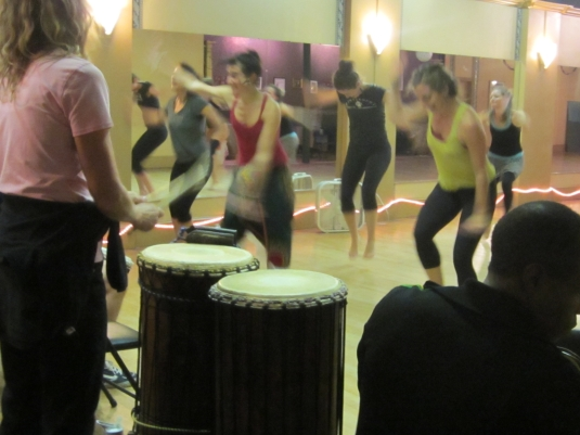 Last week in dance class.
