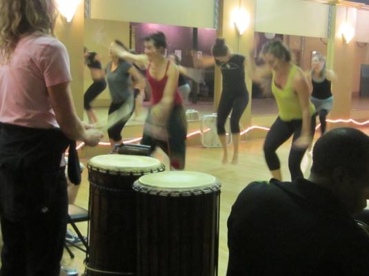 Thursday dance class