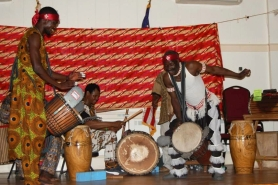Akwaaba Ensemble performs