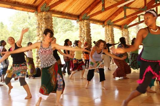 Dance Class.Camp Fareta