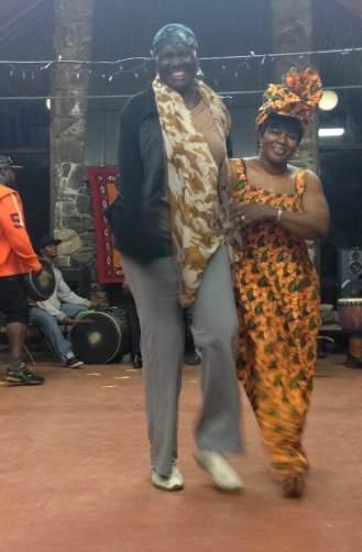 Mabiba Baegne (left), Djeneba Sako (right)